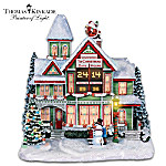 Thomas Kinkade Time For Christmas Countdown Clock Picture