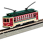 Happy Holidays Brill Trolley N-Scale Train Car