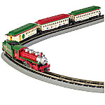 The Spirit Of Christmas N Scale Steam Locomotive Train Set