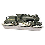The Pennsylvania Switcher Locomotive And Tender N Scale Train Accessory