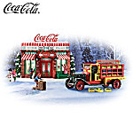 Sculpture Set: COCA-COLA Refreshing Memories Village Sculpture Set