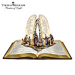 Thomas Kinkade Nativity Christmas Bible