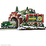 Green Bay Packers Christmas Mountain Tunnel Train Accessory