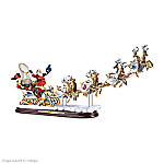 Sculpture: Boston Red Sox 2013 World Series Champions Santa Sleigh Sculpture