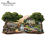 Thomas Kinkade Gone With The Wind Sculpture