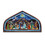 Light Of The World Nativity Wall Decor