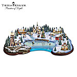 Thomas Kinkade Christmas Cove Sculpture