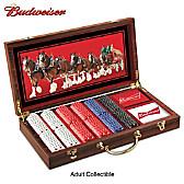 Budweiser Deluxe Poker Set
