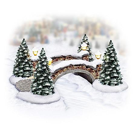 Merry Cobblestone Crossing Winter Village Accessory