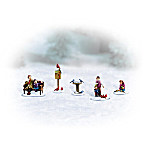 Holiday's Feathered Friends Village Figurine Accessory Set