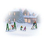 Frosty Fun Village Figurine Accessory Set