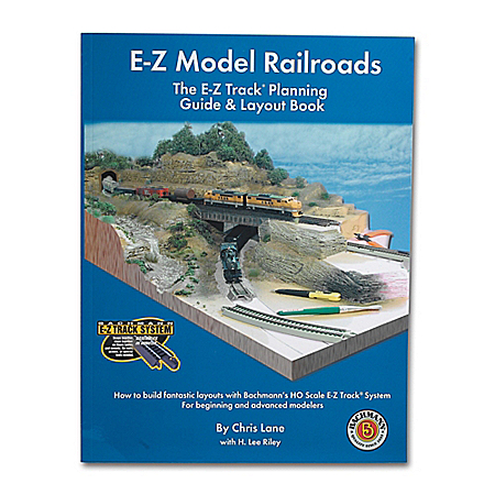 E-Z Model Railroads Track Planning Guide & Layout Book