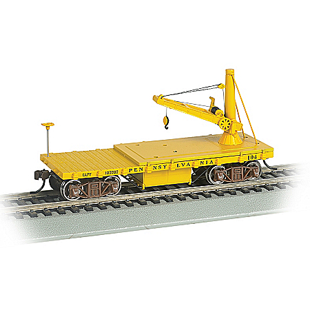 HO-Scale Pennsylvania Lines Maintenance Of Way Train Car