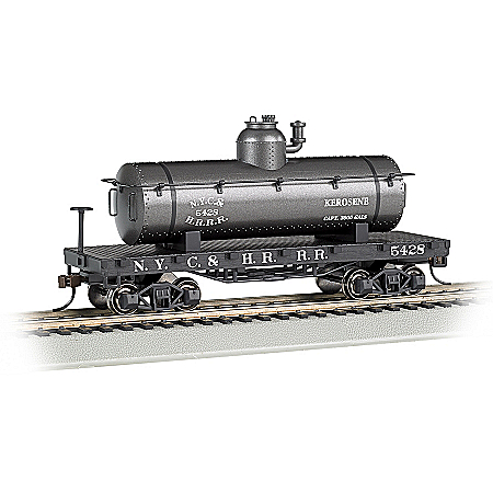 Old-Time Tank Car HO-Scale Train Accessory