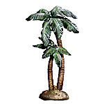 The Wondrous Night Nativity Sculpted Palm Tree Accessory