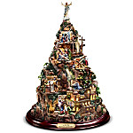 Thomas Kinkade Christian Tabletop Home Decor - Faith Mountain