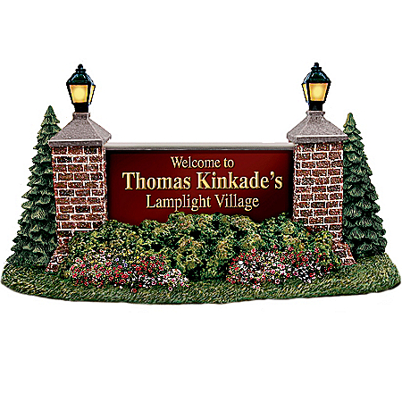 Thomas Kinkade Lamplight Greetings Village Accessory