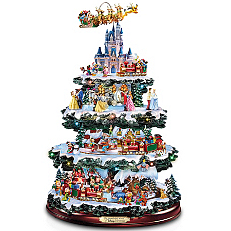 Disney Tabletop Christmas Tree: The Wonderful World Of Disney