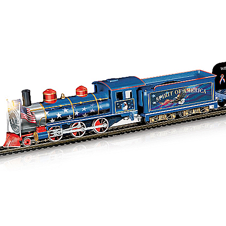 Spirit Of America World Trade Center On30-Scale Train Set