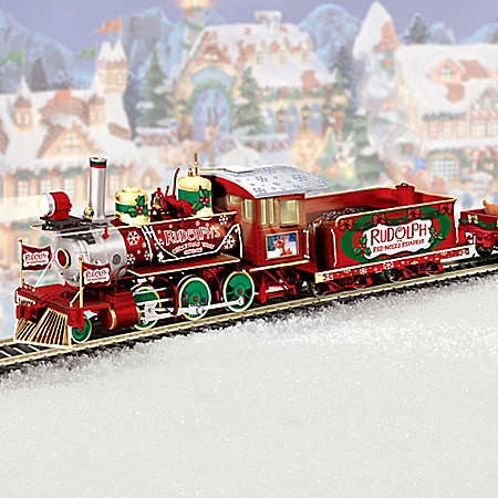 Rudolph's Christmas Town Express: Rudolph Train Set