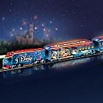 Hawthorne Village Disney Movie Magic Express Train Set With Illuminated Train Cars