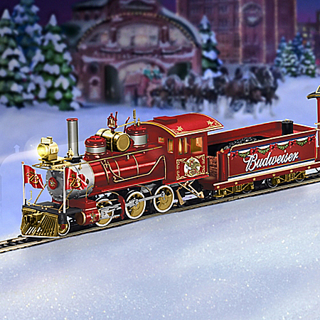 Budweiser Holiday Express Train Gift Set 1400904029