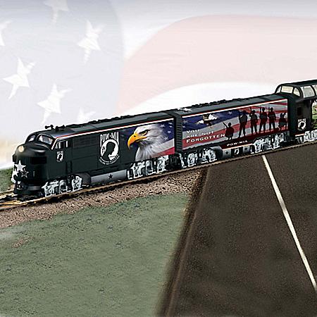 POW MIA Express HO-Gauge Train Set