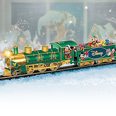 Disney Holiday Celebration Express Handcrafted Train Set