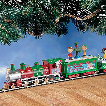 The PEANUTS Christmas Express Electric Train Set