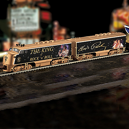King Of Rock 'N' Roll Elvis Presley Express Electric Train Set