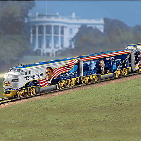 The Movement For Change Express: Collectible Barack Obama Train Set