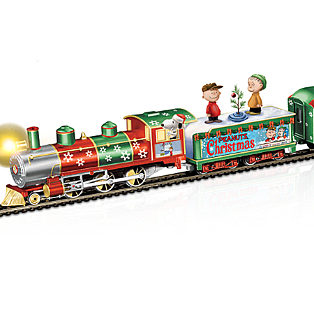 PEANUTS Charlie Brown Christmas Express Train Set
