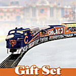 Chicago Bears Express: Collectible Electric Train Gift Set