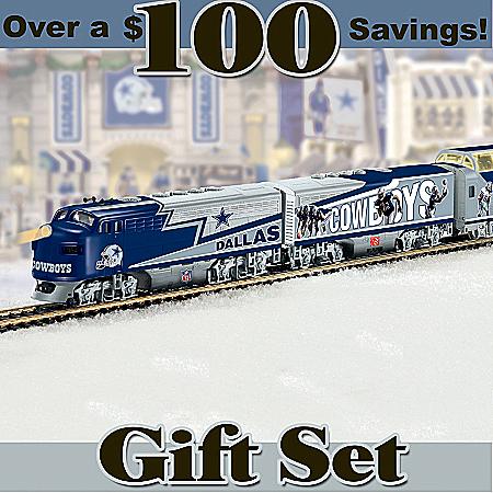 NFL Dallas Cowboys Express Train Set