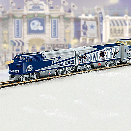 NFL Dallas Cowboys Express Train Set
