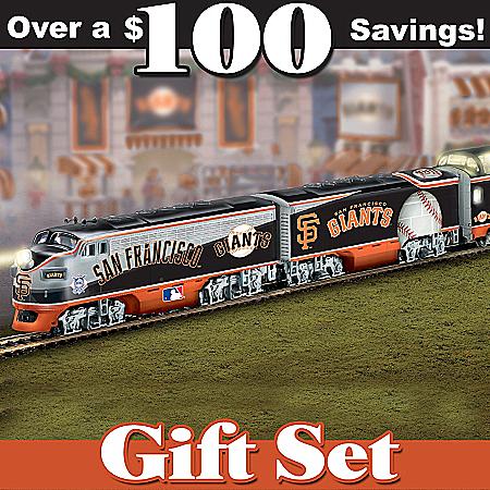 San Francisco Giants Express HO-Gauge Train Set