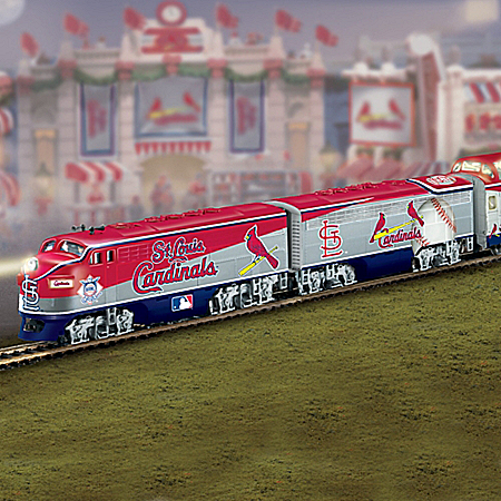 Hawthorne Village St. Louis Cardinals Express Train Gift Set