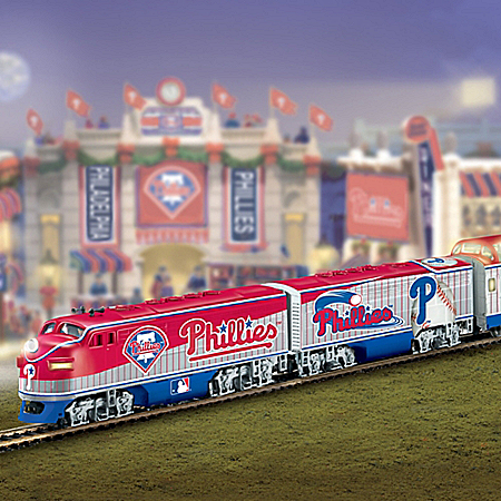 Philadelphia Phillies Express Train Gift Set