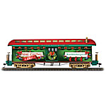 Hawthorne Village 2017 Illuminated Personalized Holiday Train Car