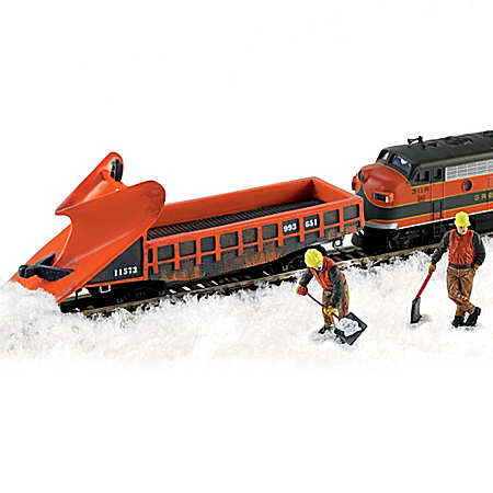 HO-Scale Hawthorne Railways Wedge Plow Train Accessory Set