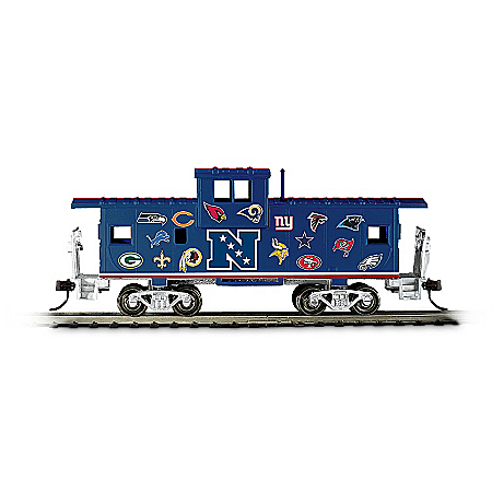 NFL Caboose: Train Accessory With All 32 Team Logos