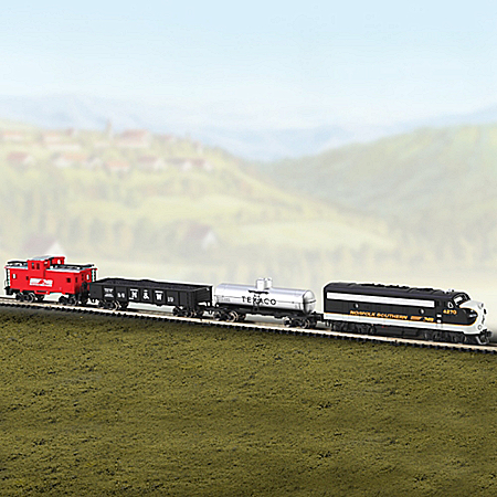 The Stallion Train Set With Track And Speed Controller