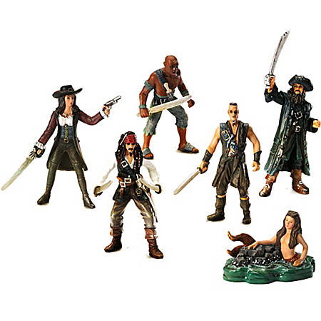 Figurine Set: Pirates Of The Caribbean Revenge