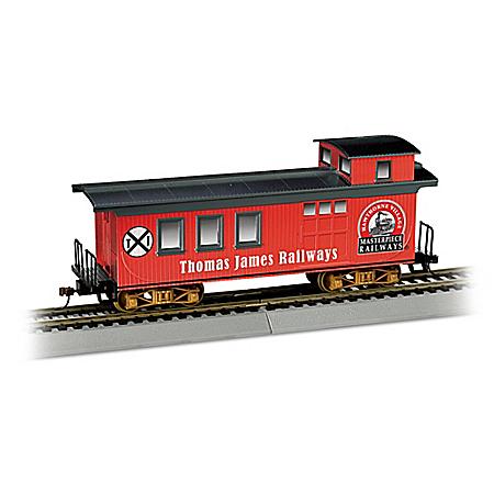 Personalized Caboose HO-Gauge Train Car