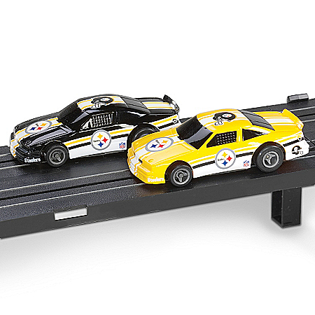 NFL Pittsburgh Steelers Electric Slot Car Set