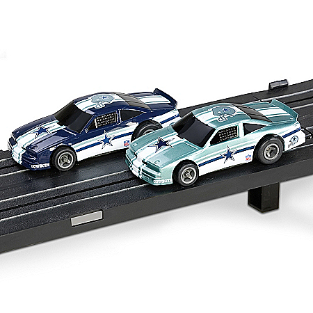 NFL Dallas Cowboys Electric Slot Car Set