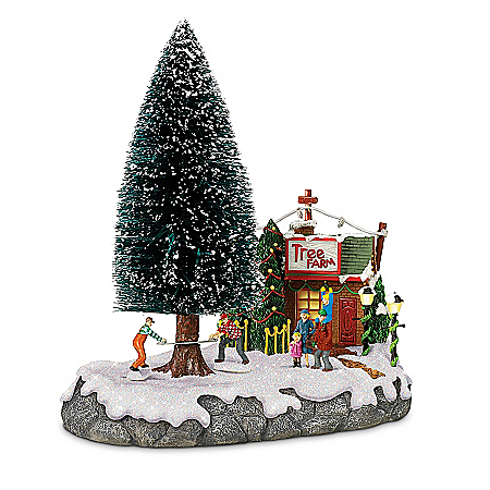Christmas Tree Farm Sculpture