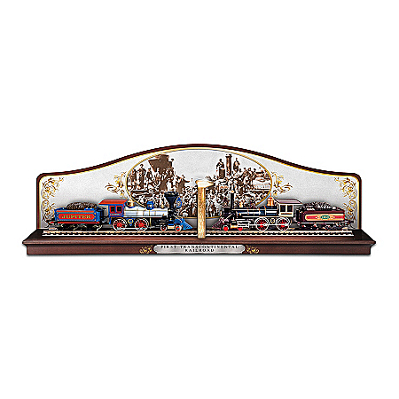 First Transcontinental Railroad Commemorative Display Train AccessoryThe Golden Spike