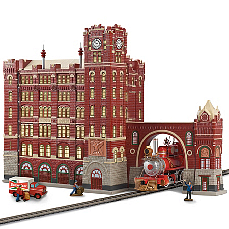 Illuminated Village: Budweiser Brew House Masterpiece Edition Sculpture