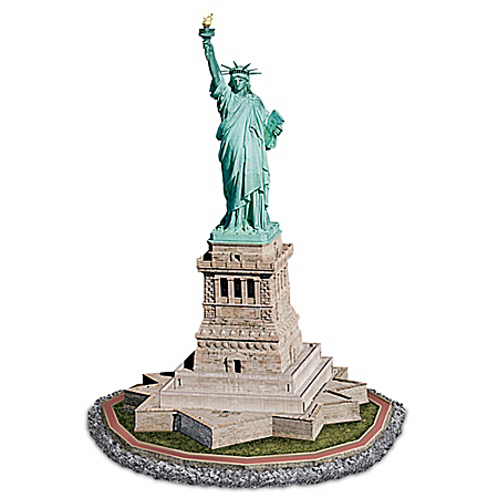 Statue Of Liberty Masterpiece Illuminated Sculpture